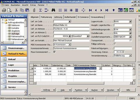 Accounting Software Navision Accounting Software Tutorial